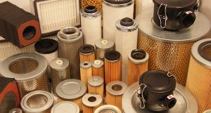 Vacuum pump filters and oil separators